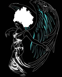 Afro Angel of style
