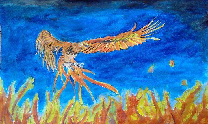 Bird on fire - Nox da Artist
