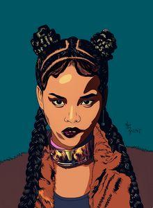 African princess by NoxDaArtist