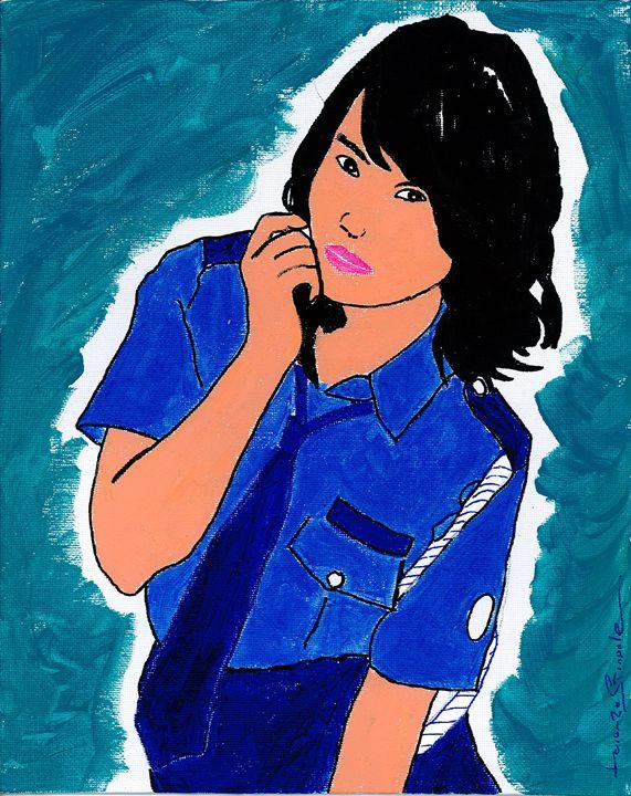Girl Cop - Lorenzo Stradale