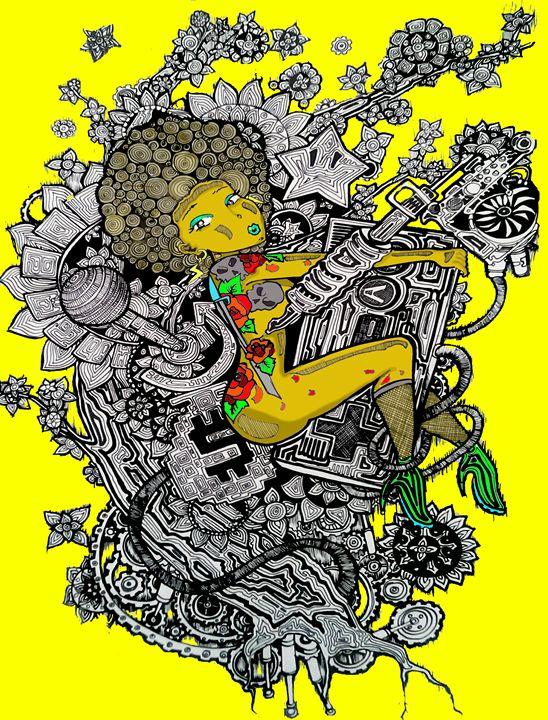 Genx/yellow - Mecha
