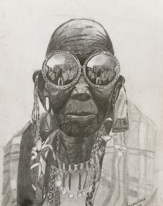 The maasai wonderwoman - Amaremoelaebi Arts