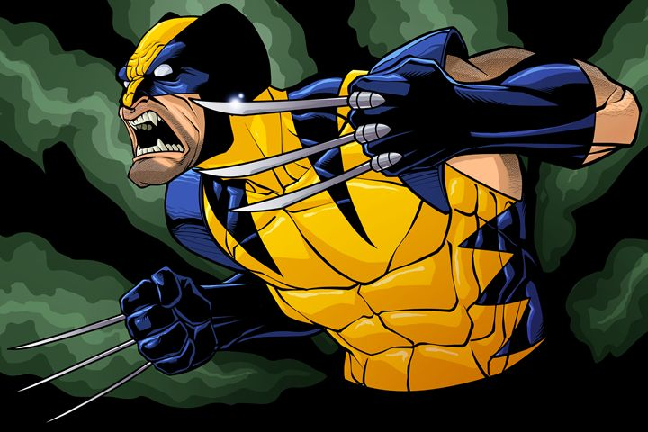 Wolverine - Comic art