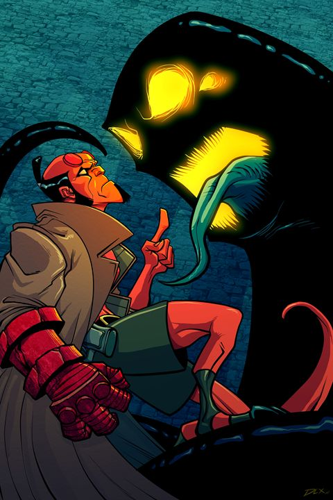 Hellboy - Comic art