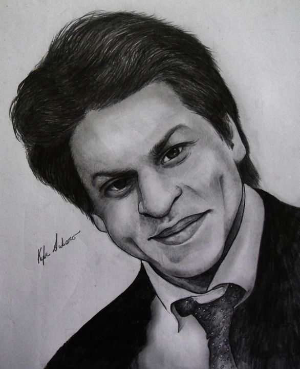 Shah Rukh Khan - art by Kyle