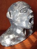 Clay Bust Sculpture