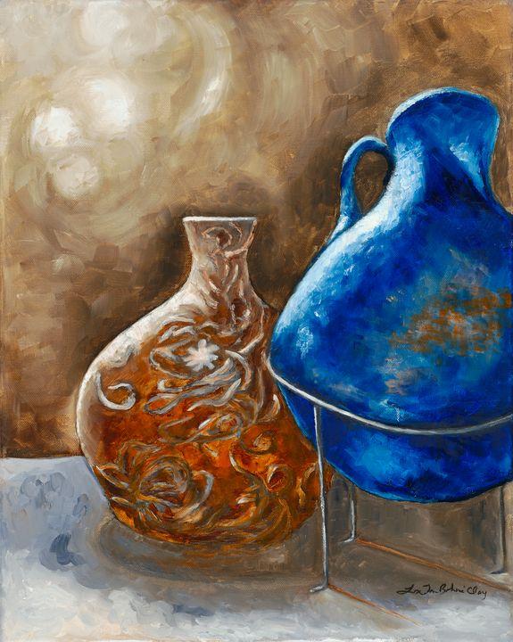 The Unstill Still Life I - Lisa Jan-Bohne' Clay