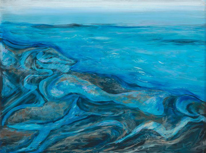 Design in the Sand - Lisa Jan-Bohne' Clay