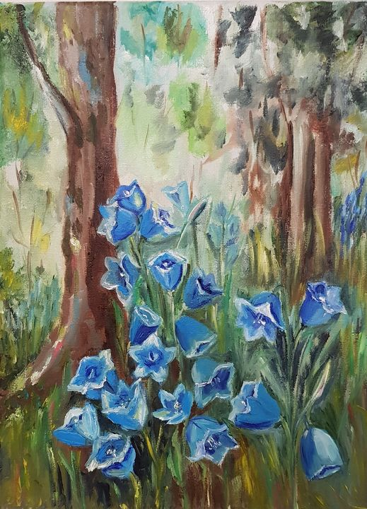 Bluebells beauty. - Eleonor Art