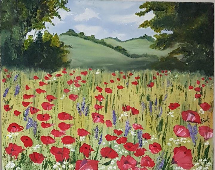 Poppies island. - Eleonor Art