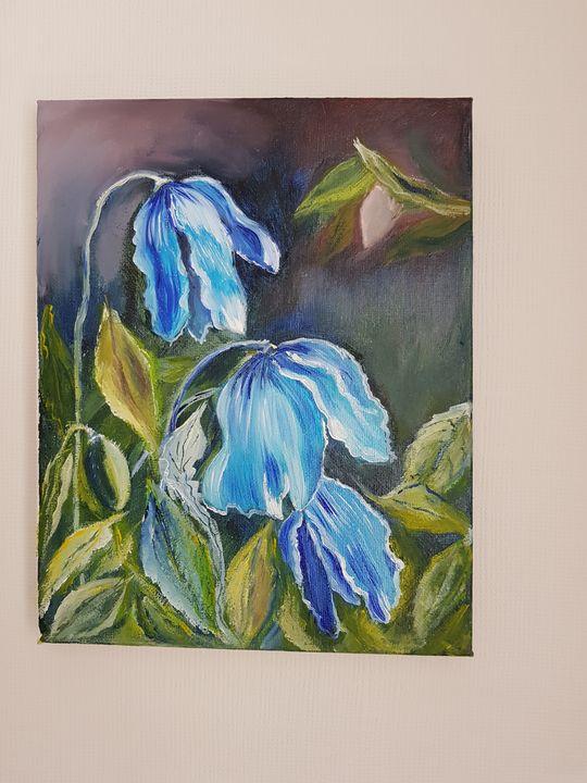 Bluebells` mood. - Eleonor Art