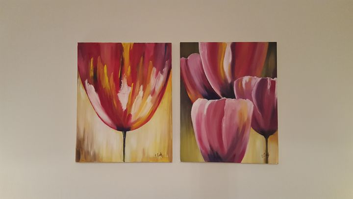 Beauty of tulips. - Eleonor Art