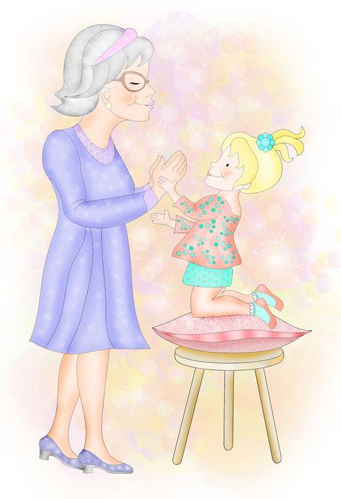 patty cake with grandma aviva gittle gifts drawings