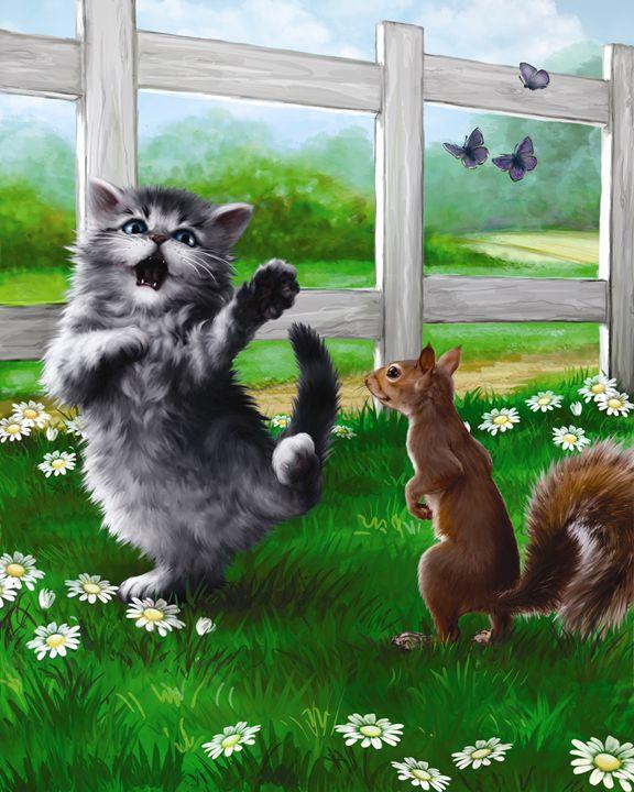 Kitten Wins the Race! - Aviva Gittle Gifts