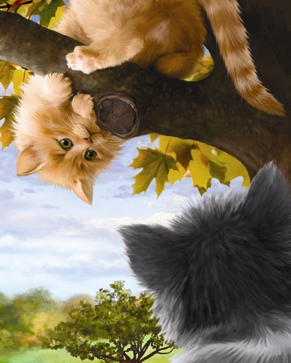 Kitten Meets a New Friend - Aviva Gittle Gifts