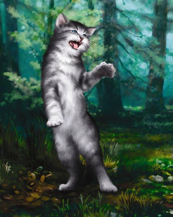 Kitten is Lost in the Woods - Aviva Gittle Gifts