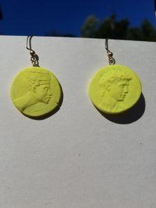 Nefertiti and David Earrings
