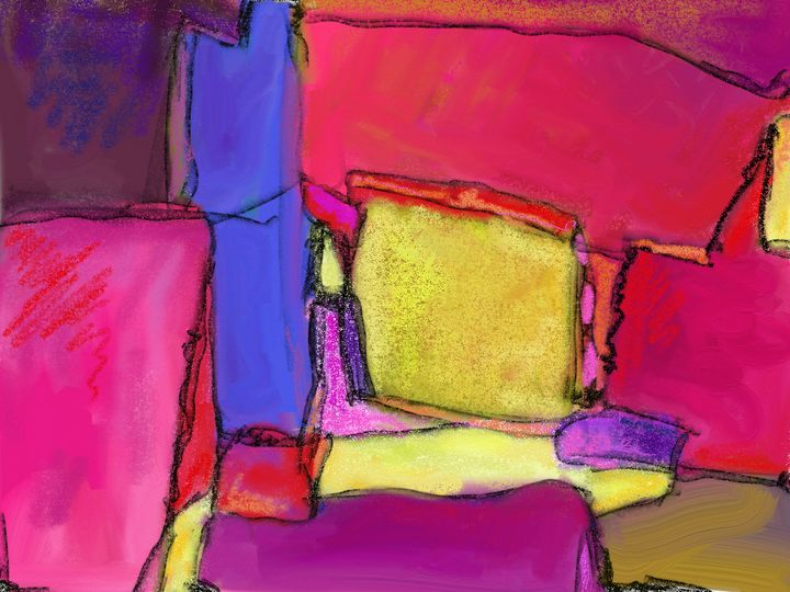 Abstract from above - Lisa Welcher Art