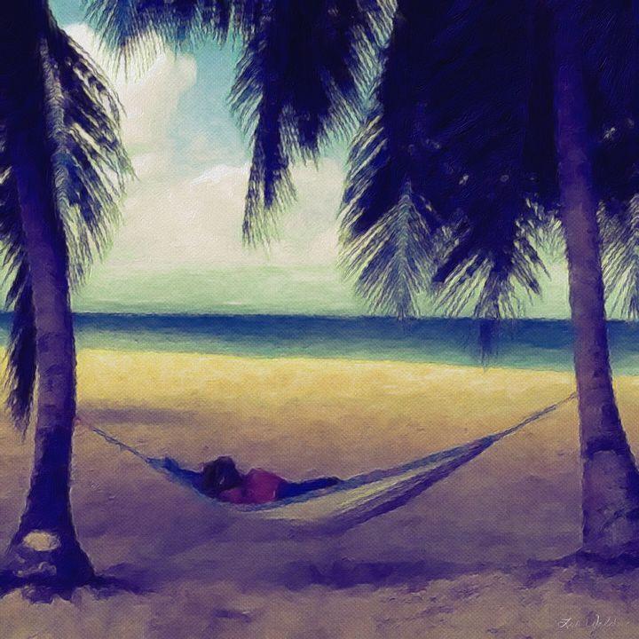 afternoon nap - Lisa Welcher Art