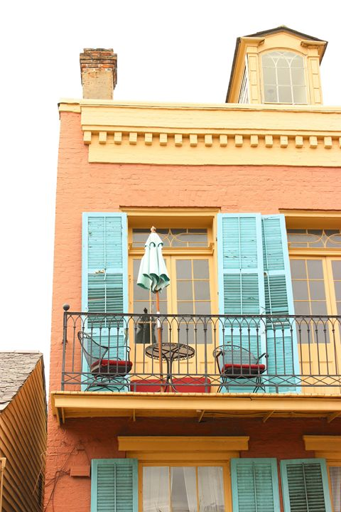 French Quarter Balcony - Eureka Gallery