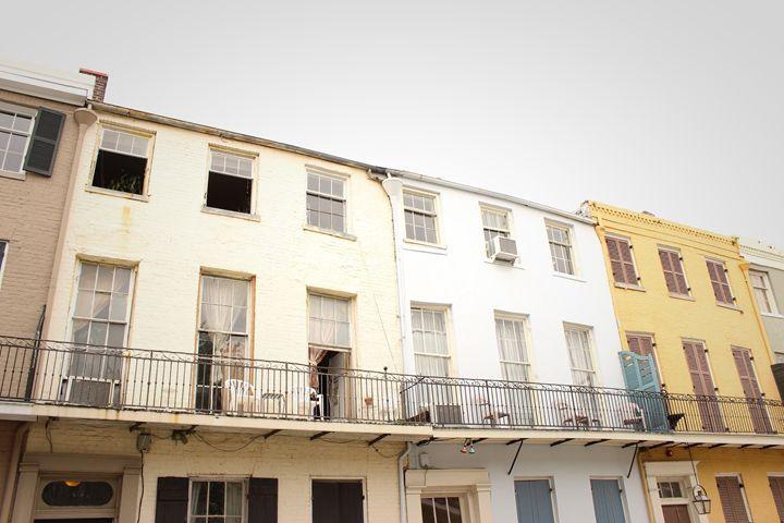 French Quarter Dwellings - Eureka Gallery