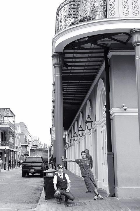 Bourbon Street Characters - Eureka Gallery