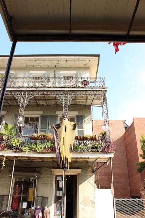 Halloween in the French Quarter - Eureka Gallery