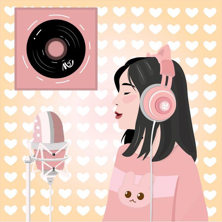 The Singing Girl - MoyaNana