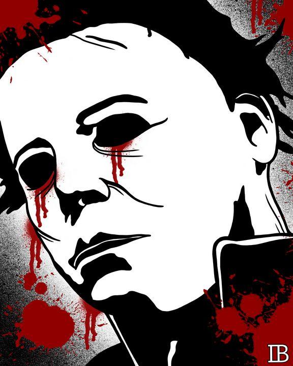 Michael Myers - Ian Bennett Art