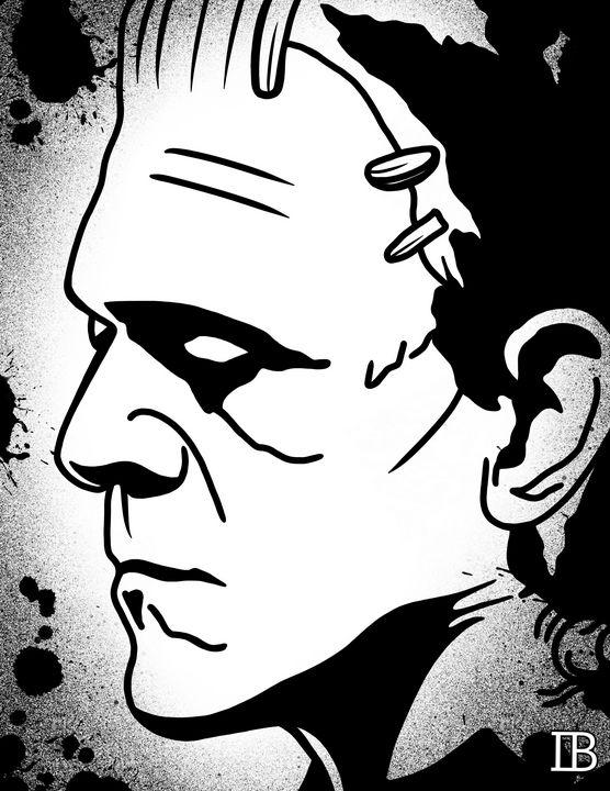 Frankenstein's Monster - Ian Bennett Art