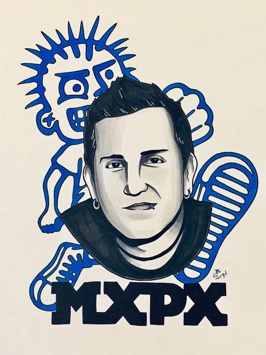Tom Wisniewski of MxPx - Ian Bennett Art
