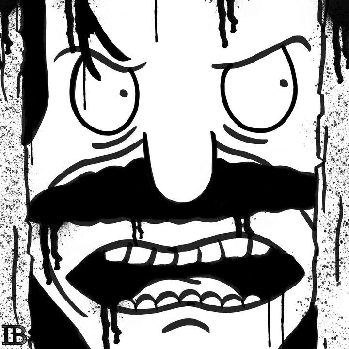Here's Bobby!! - Ian Bennett Art