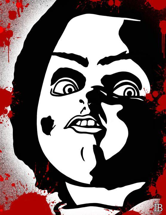 Chucky - Ian Bennett Art