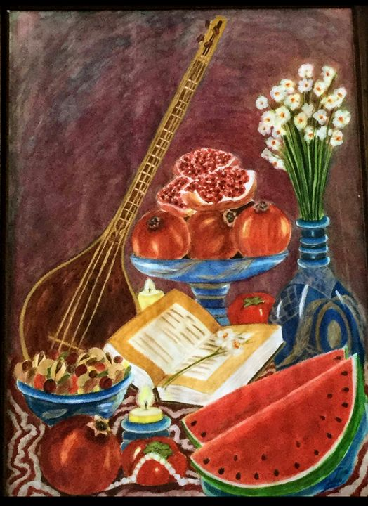 Yalda Night Table - Somayeh