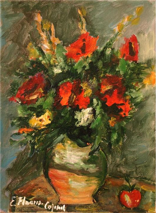 Bouquet of poppies - Elena Floares Cojenel