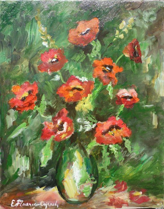 Red Poppies - Elena Floares Cojenel