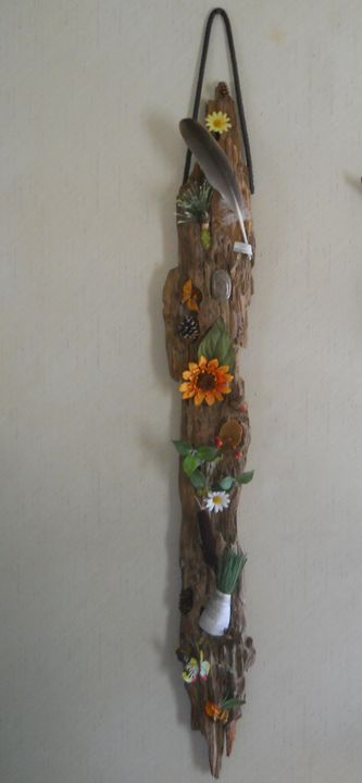 Driftwood Hanging Creation - FOX Creations