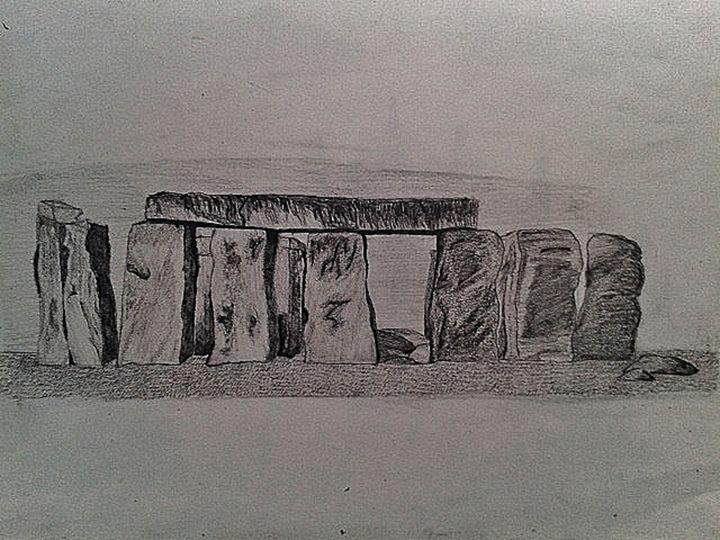 Stone Henge, Scotland - Catherine