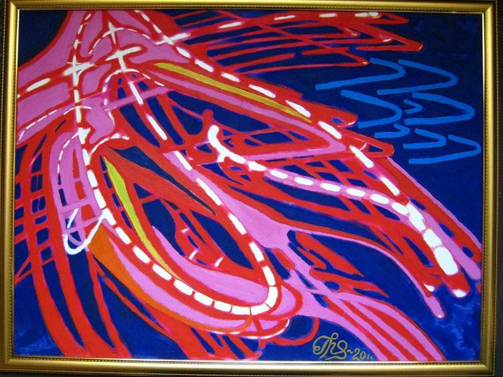 """Tsunami-2011"" - AlegriArt"