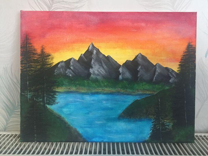 SUNSET BLISS - SajjArt