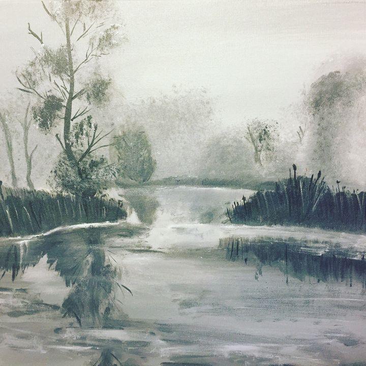 Winter lake - Kateryna Dronova