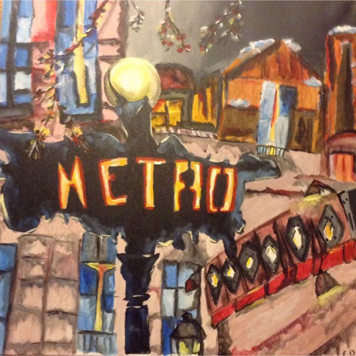 Paris Metro - Kateryna Dronova