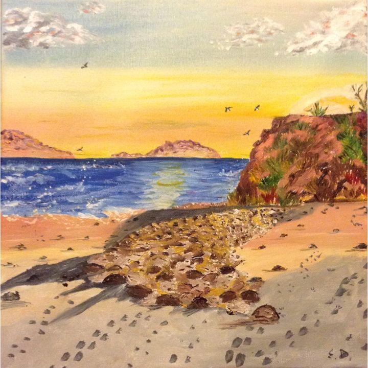 Steps to the ocean - Kateryna Dronova