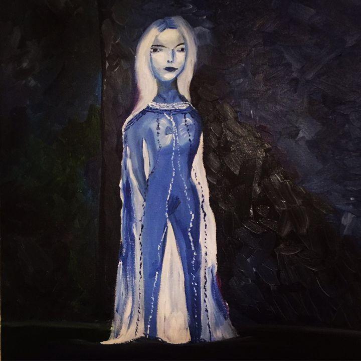 Picasso inspiration. Blue period - Kateryna Dronova
