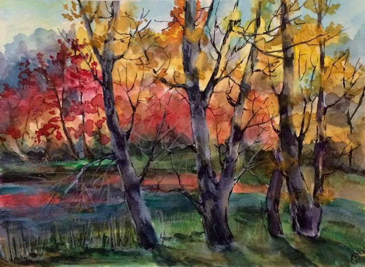 Red Forest - Oksana Gulina