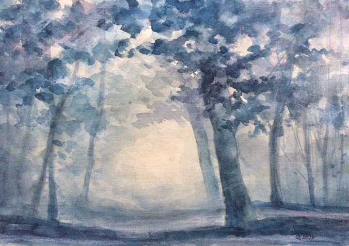 Another Blue Season - Oksana Gulina
