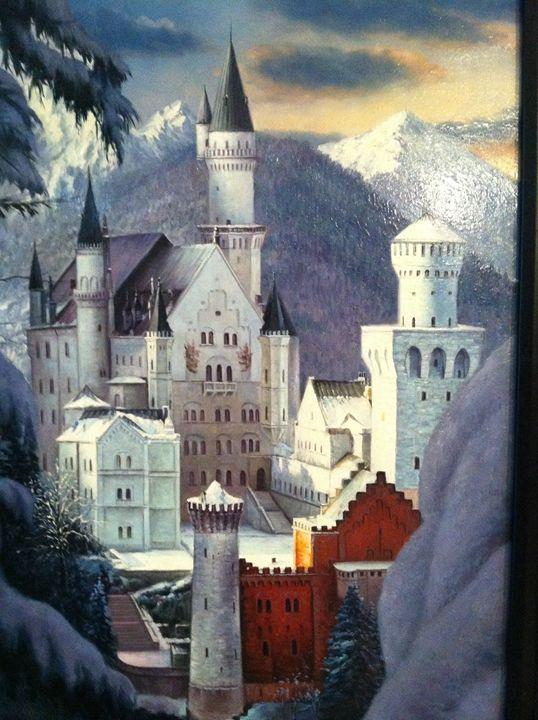 Neuschwanstein Disney Castle - Shellsea