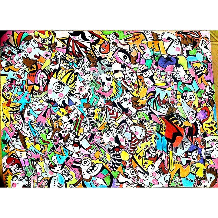 visual painting -  Minalakan32166