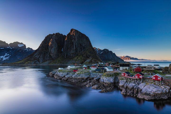 Hamnoy Fishing Village - Palombella Hart Photography