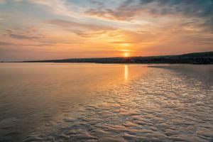 Sunset at Traeth Mawr